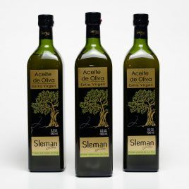 Aceite de Oliva Sleman Vidrio