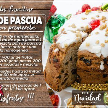 Pan de Pascua con PreMezcla Saldaña
